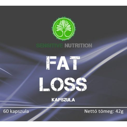 Sensitive Nutrition Fat Loss kapszula 60 db