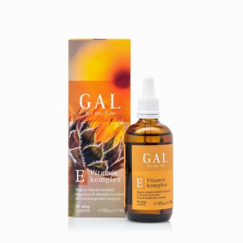 GAL E-vitamin 100 NE 90 adag,95 ml