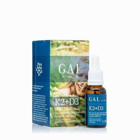GAL K2+D3 vitamin akció,20 ml