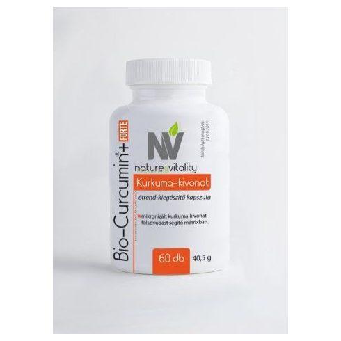 Nature & Vitality Bio-Curcumin Forte kapszula,60 db