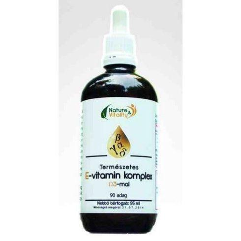 Nature & Vitality E-vitamin komplex 95 ml