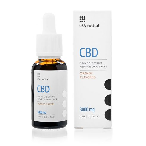 USA Medical CBD olaj 30 ml 3000 mg