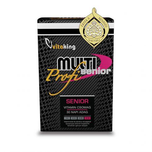 Vitaking Multi Senior Profi multivitamin csomag 30 db