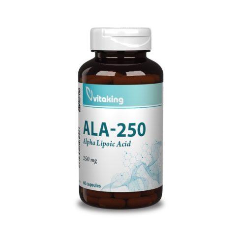 Vitaking Alfa-Liponsav 250 mg - 60 db