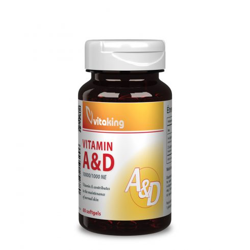 Vitaking A&D vitamin 10000NE/1000NE 60 db