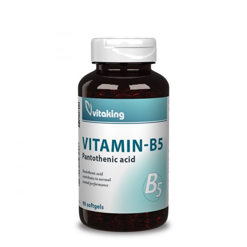 Vitaking Pantoténsav B5-vitamin 200 mg - 90 db