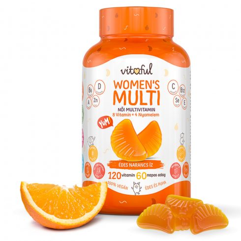 Vitaful Womens's Multi multivitamin nőknek 120 db
